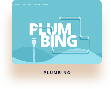 wordpress templates for plumbers