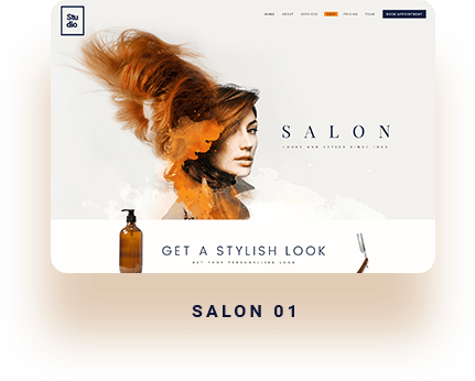 wordpress themes for salon